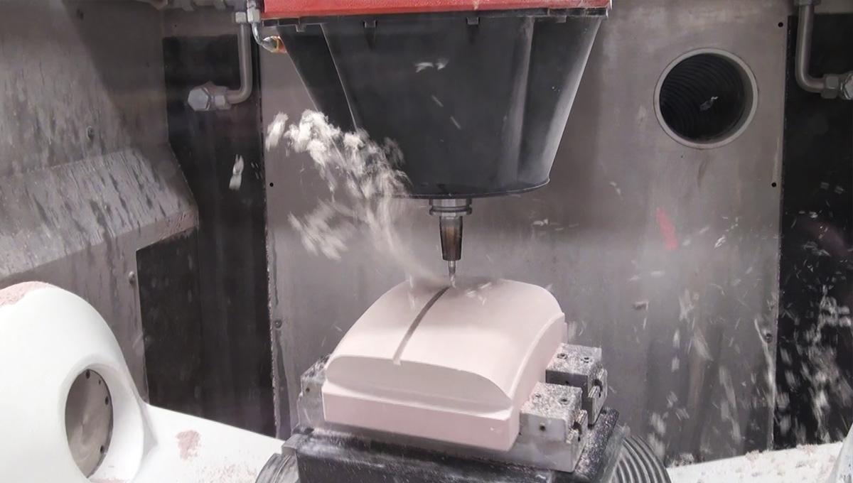 Unique dust handling solution